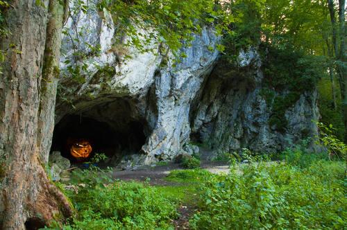 Swabian Jura cave