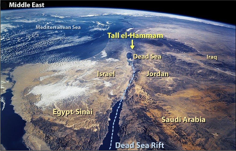 Tall el hammam ancient city