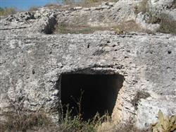 Colossae ancient city rock-cut chamber and house-type tomb Photo: Denizli Culture and Tourism