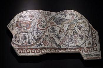 Mosaic of the Vine Harvest