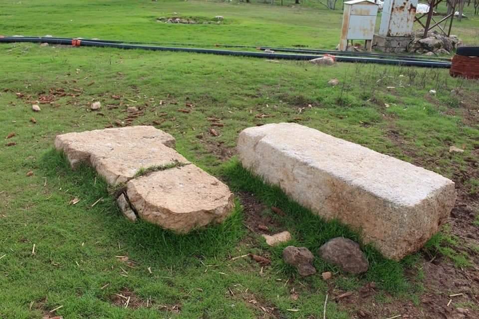A stele found in Sefer Tepe.