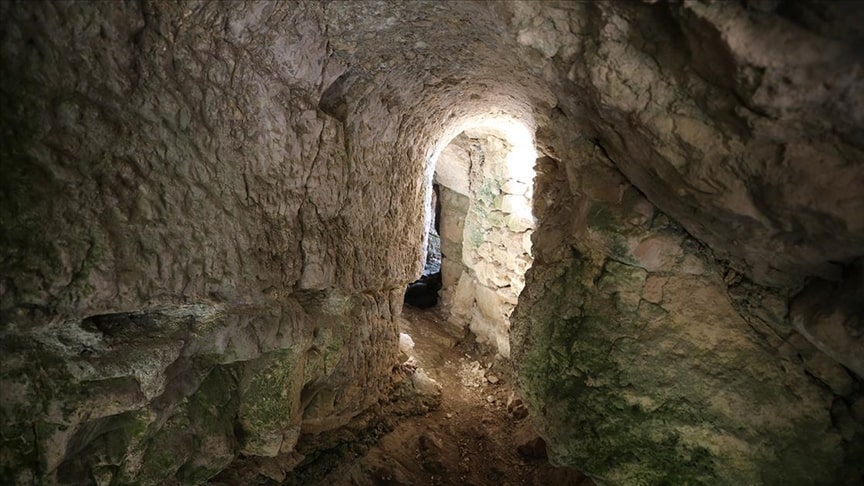 The Ancient City of Miletos sacred cave