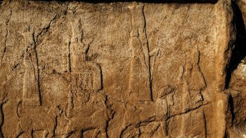 The carvings, from 2,700 years ago, show gods, kings and sacred animals