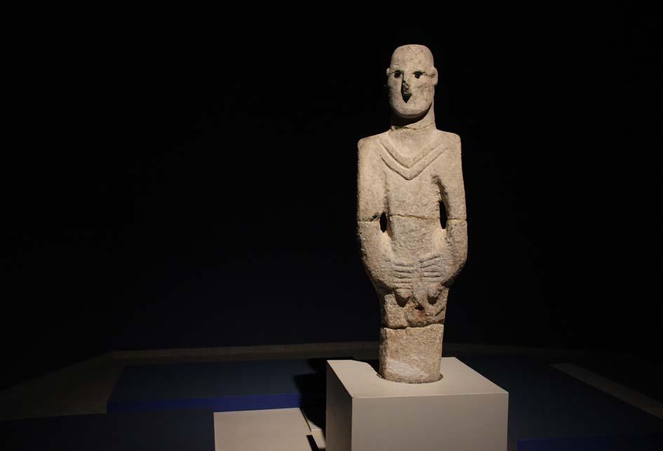 It is now certain that the Urfa statue, which was found by chance in 1993, belongs to the Yenimahalle.
