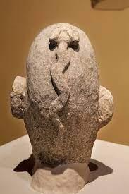 Snake embossed human head, Nevali Çori.